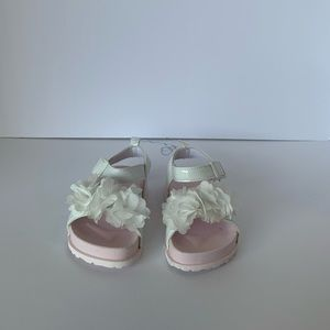 NEW FIRST STEPS BABY GIRLS/TODDLER SANDALS.SIZE. 6